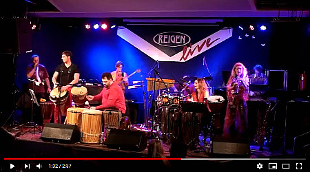 Musikvideo, Trailer: Drums on Earth Experience im Reigen Wien 2016 ...