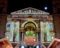 Weihnachtsmarkt vor der St. Stephans Basilika in Budapest