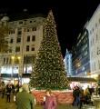 Weihnachtsmarkt am Vörösmarty tér in Budapest 2020